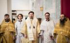 Le 15 décembre Monseigneur Nestor a procédé à deux ordinations en la cathédrale de la Sainte Trinité à Paris