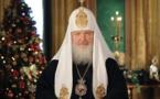 Message de Noël de Sa Sainteté Cyrille, Patriarche de Moscou et de toutes les Russies