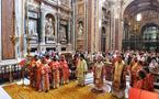 Une liturgie orthodoxe célébrée à la basilique Sainte-Marie-Majeure de Rome