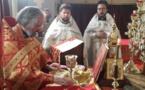 La fête onomastique de la paroisse des saints nouveaux martyrs et confesseurs de l'Église russe à Vanves