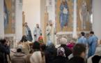 Mgr Jean, métropolite de Chersonèse et d'Europe occidentale a célébré la Divine Liturgie du dimanche du pharisien et du publicain en la cathédrale de la Sainte Trinité à Paris