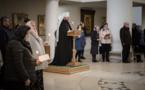 L'Exarque du Patriarche a présidé la célébration des Grandes Complies avec la lecture du canon de st. André de Crète en la cathédrale de la Sainte Trinité à Paris
