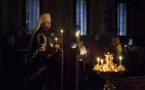 Métropolite Jean a présidé la célébration des Grandes Complies avec la lecture du canon de st. André de Crète en l'église des Trois-Saints-Docteurs à Paris