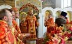 Le métropolite Jean a présidé une Divine Liturgie à Zurich