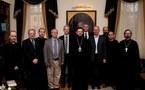 Le groupe de réflexion orthodoxe-catholique Saint-Irénée reçu par le recteur de l'académie de théologie de Saint-Pétersbourg
