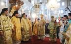 Les patriarches d'Antioche et de Moscou célèbrent une liturgie à la cathédrale orthodoxe de Damas