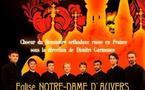 Le choeur du Séminaire orthodoxe russe en France donnera un concert à l'église d'Auvers-sur-Oise le 9 décembre prochain