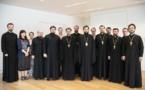 Le métropolite Antoine a rencontré les membres de l'Administration diocésaine de l'évêché de Chersonèse