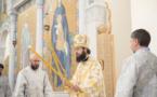 Mgr Antoine a célébré la Divine Liturgie et l'ordination diaconale en la cathédrale de la Sainte Trinité