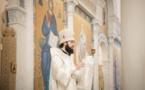 Mgr Antoine, métropolite de Chersonèse et d'Europe occidentale, a célébré les Vigiles du 14eme dimanche après la Pentecôte