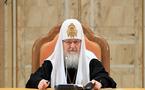Le patriarche Cyrille de Moscou a adressé un message de félicitations à M. François Hollande