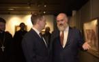 Le ministre de la culture russe Vladimir Medinski a visité la cathédrale de la Sainte-Trinité à Paris