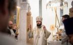 La Nativité du Christ: Mgr Antoine a célébré la Divine Liturgie nocturne en la cathédrale de la Sainte Trinité à Paris