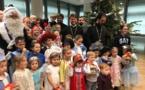 La fête paroissiale de Noël pour les enfants de l'école de catéchisme
