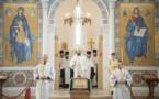 Mgr Antoine, métropolite de Chersonèse et d'Europe occidentale, a célébré les Vigiles du 7eme dimanche après la Pâque