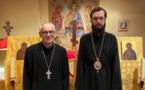 L'exarque du patriarche visite la paroisse en l'honneur de Saint Grégoire Palamas et Sainte Attale à Strasbourg