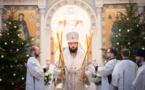 La Nativité du Christ: Mgr Antoine a célébré la Divine Liturgie en la cathédrale de la Sainte Trinité à Paris