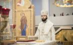 Fête de la Circoncision du Seigneur selon la chair: le métropolite Antoine a célébré la Divine Liturgie en la cathédrale de la Sainte Trinité à Paris