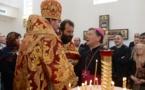 Liturgie épiscopale dans la nouvelle église Sainte-Marie-Madeleine à Madrid