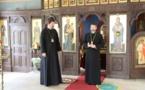 Visite au séminaire l'évêque Antoine de Constantine, auxiliaire du diocèse de l'Europe occidentale de l'Eglise orthodoxe de Bulgarie