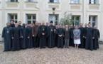 Lé Séminaire orthodoxe russe à Épinay-sous-Sénart célèbre la fin de l'année académique