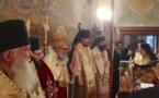 L'évêque Nestor de Chersonèse a participé à une liturgie célébrée par le patriarche Jean X d'Antioche