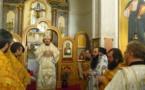 L'évêque Nestor de Chersonèse a célébré la divine liturgie à Lisbonne