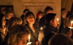 Pâques au monastères Sainte-Trinité à Dompierre en Suisse
