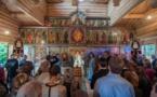 Consécration de l'église en bois du Séminaire orthodoxe russe d'Épinay-sous-Sénart