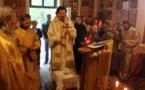 Bénédiction de l'église Saint-Barsonuphe à Chavenon