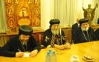 Le patriarche copte d'Alexandrie rend visite à l'Église orthodoxe russe