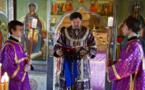 Liturgie épiscopale à l'église Notre-Dame de la Nativité du Séminaire à Épinay-sous-Sénart