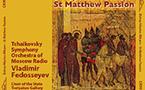 Un coffret CD avec la 'Passion selon Saint Matthieu' de Mgr Hilarion est sorti en Suisse