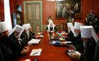 Le Saint-Synode s'est réuni la veille de l'inauguration du concile épiscopal
