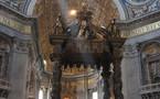 Prière orthodoxe sur les reliques des saints apôtres Pierre et Paul à Rome
